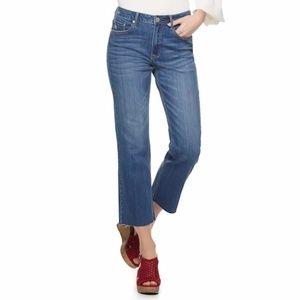American Rag High-Waist Crop Wide-Leg Jeans